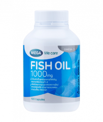Mega We Care Fish Oil 1000 mg