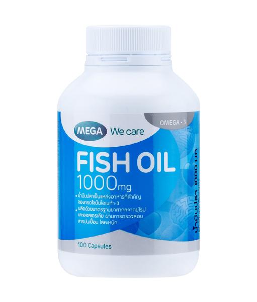 Mega We Care Fish Oil 1000 mg
