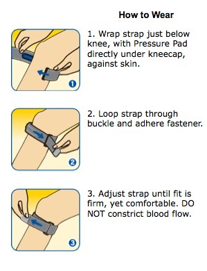Futuro Sport Adjustable Knee Strap How to wear