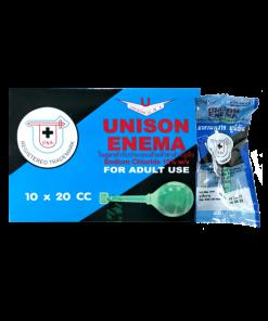 Unison Enema For Adult 1 box