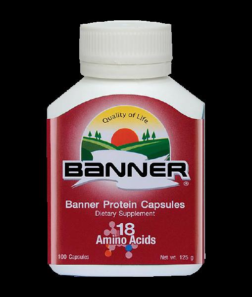 Banner Protein 100 cap