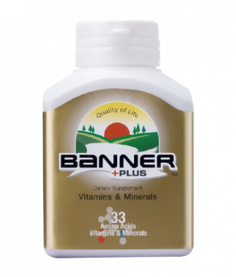Banner+Plus Vitamin and Minerals 30 cap
