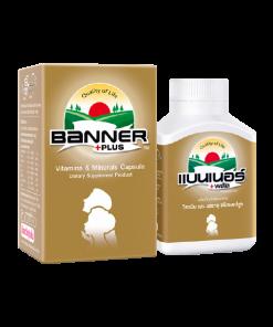 Banner +Plus Vitamin & Minerals 30 cap