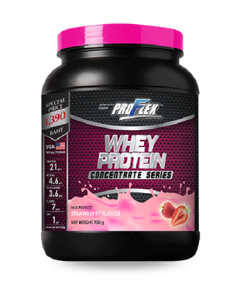 Proflex Whey Protein Concentrate Strawberry 700 g