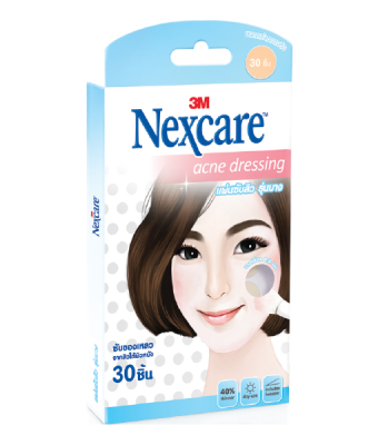3M Nexcare Acne Dressing 30 pcs