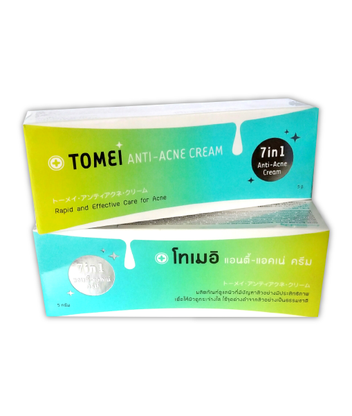 TOMEI Anti-acne Cream Cream 7in1 5 g