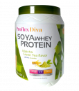 Proflex Diva Soya Whey Protein Matcha Green Tea Flavor 500 g
