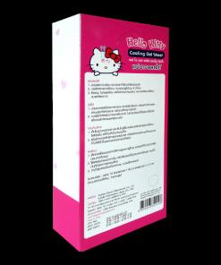 SOS Hello Kitty Cooling Gel Sheet 4x9 cm 1 pcs