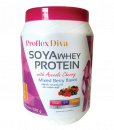 Proflex Diva Soya Whey Protein Mixed Berry Flavor 500 g