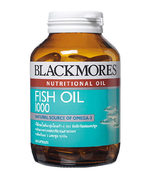 Blackmores Fish Oil 1000 80 cap