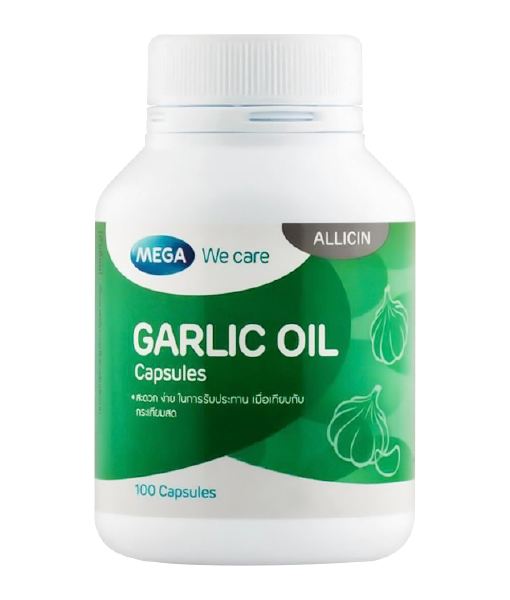 Mega Garlic Oil 100 cap