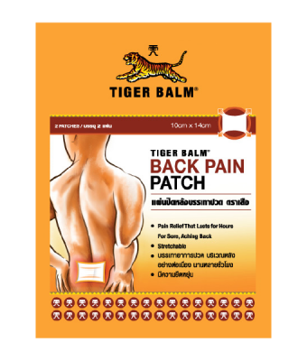 Tiger Balm Back Pain Patch 10x14 2 pcs