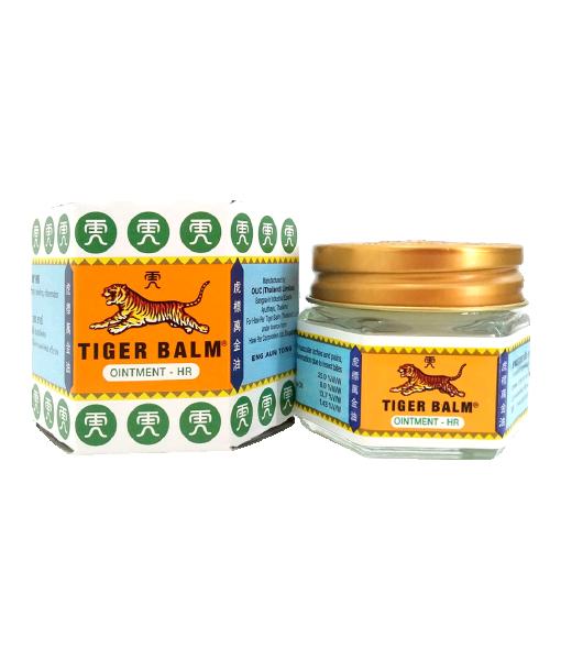 Tiger Balm HR 19.4 g ยาหม่องตราเสือ(สีขาว)
