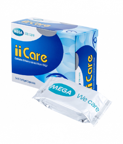 Mega We Care II Care 30 cap