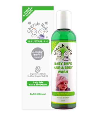 Cherub Rubs Hair and Body Wash 250 ml