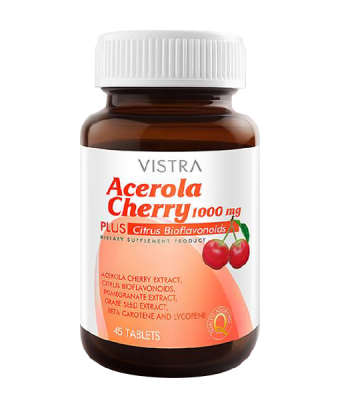 Vistra Acerola Cherry 1000 mg 45 cap