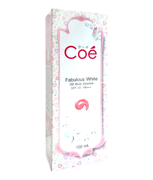Coe Fabulous White DD Body SPF 50 100 ml
