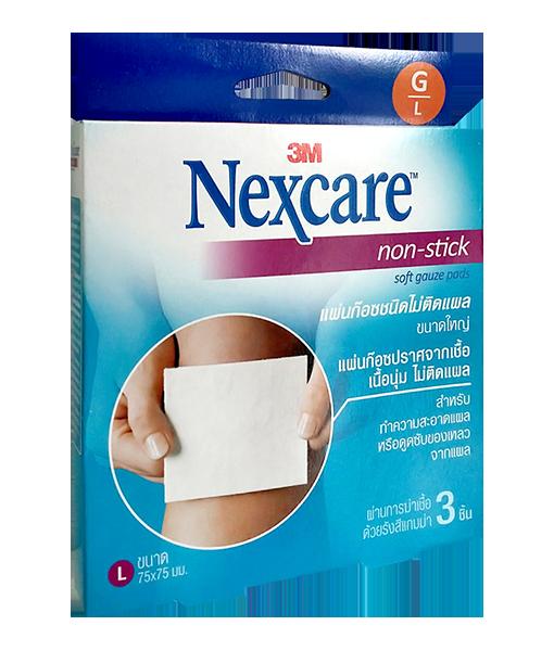 3M Nexcare Non Stick Soft Gauze 3 pads