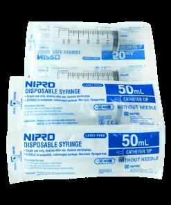 Nipro Syringe 50 ml 30 pcs กระบอกฉีดยา