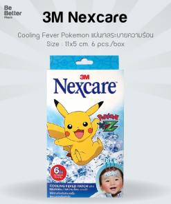 3M Nexcare Cooling Fever Pokemon