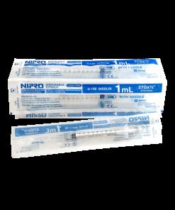 Nipro Syringe 1 ml 100 pcs