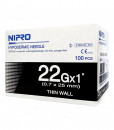 Nipro 22Gx1 100 pcs เข็มฉีดยา