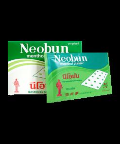 Neobun Menthol Plaster 20x10 sheets