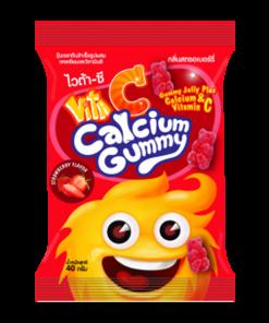 Vita C Gummy Calcium Strawberry 1 pc