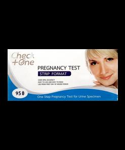 Check One Pregnancy Test Strip Format
