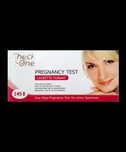 Check One Pregnancy Test Cassette Format