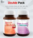 Vistra Acerola Cherry 45 tabs + Grape Seed 30 Caps