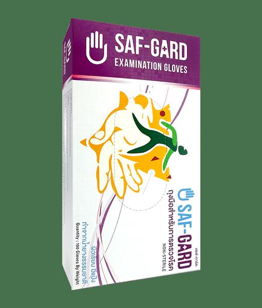 ถุงมือ SAF GARD 100 sachets/box