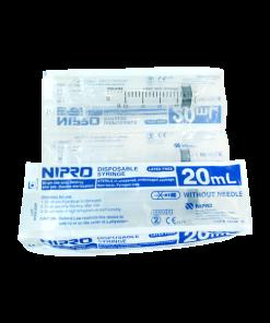 Nipro Syringe 20 ml 50 pcs กระบอกฉีดยา