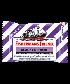 Fisherman's Friend Sugar Free Blackcurrant