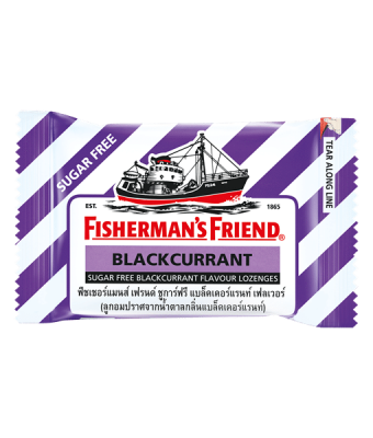 Fisherman's Friend Sugar Free Blackcurrant