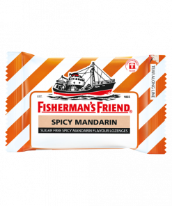 Fisherman's Friend Sugar Free Spicy mandarin