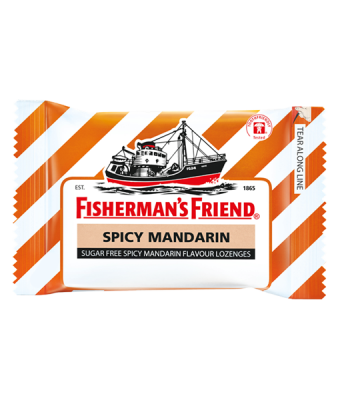 Fisherman's Friend Sugar Free Spicy mandarin