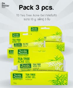 TD Tea Tree Acne Gel 10 g x3 หลอด