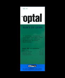 Optal Eye Lotion 100 ml น้ำยาล้างตา