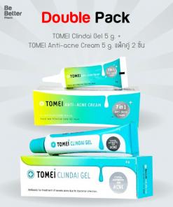 TOMEI Clindai Gel 5 g + TOMEI Anti-acne Cream 5 g