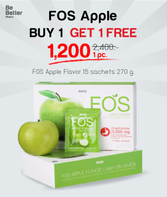 FOS Apple 270g. Buy 1 Get 1 Free