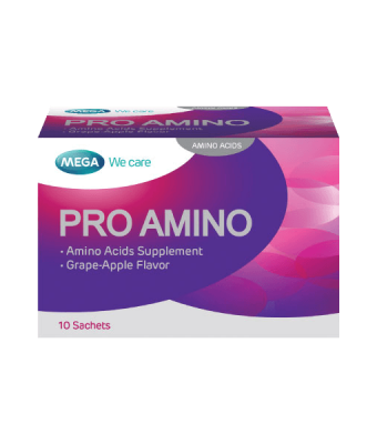 Mega We Care PRO AMINO 10 sachets/box