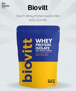 Biovitt Whey Protien Isolate 224 g.