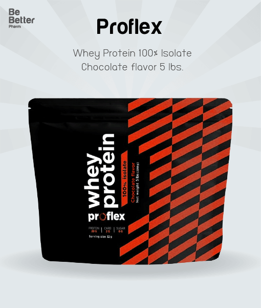 Proflex Whey Protein Isolate Chocolate 5 lbs. โฉมใหม่!