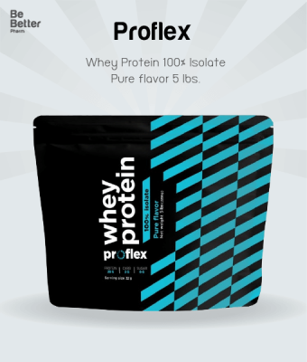 Proflex Whey Protein Isolate Pure 5 lbs. โฉมใหม่!